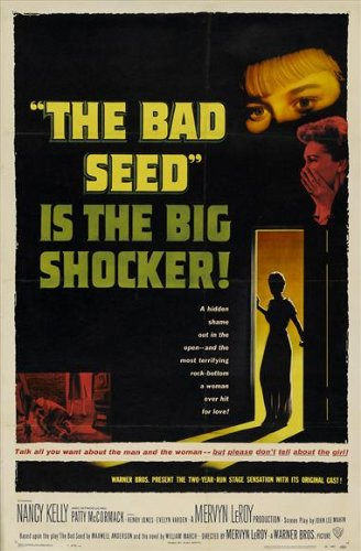 amazon com the bad seed 11x17 movie poster 1956 prints posters