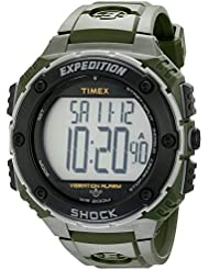 Timex Mens T499519J Expedition Shock XL Green Resin Watch