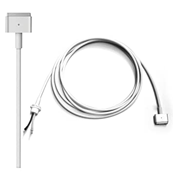 Cable de alimentación del Adaptador de corriente para Apple MacBook Air 11 13 15 inch, Cable de Reparación de repuesto para Magsafe 2 (después de ...