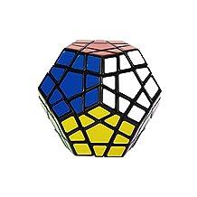 Dayan B00B6SLFMC0810 Shengshou Megaminx Black Puzzle Speed Cube