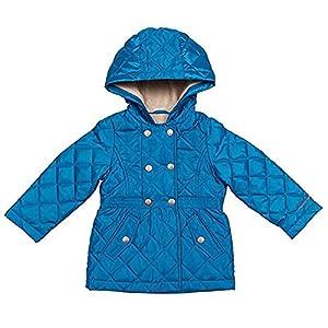 London Fog Girls' Midweight Jacket (5, Blue)