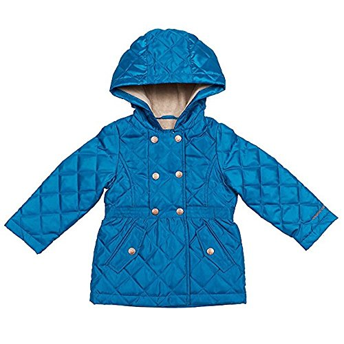 London Fog Girls' Midweight Jacket (6, Blue) by London Fog