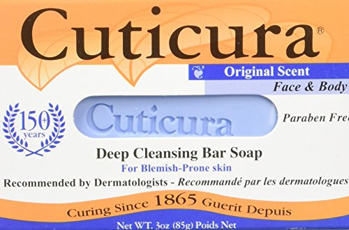 Cuticura Soap Original Scent 3 Ounce Bar