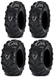 Full set of ITP Mud Lite II (6ply) 26x9-12 and 26x11-12 ATV Tires (4)