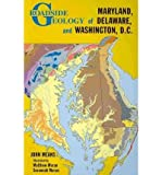Front cover for the book Roadside Geology of Maryland, Delaware, and Washington, D.C. by John Means