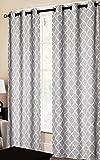 CHD Home Textiles Dagmara Curtain Panel, Silver Review