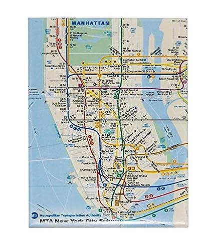 Amazon.com: MTA Map of New York Transit System Refrigerator Magnet on