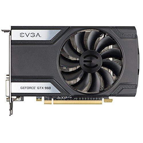 EVGA GeForce GTX 960 Super Clocked ACX 2.0 4GB GDDR5 128 Bit Gaming Graphic Card (04G-P4-3962-KR)