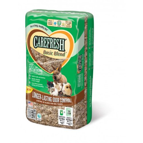 Absorbtion Corp Carefresh Basic Blend Soft Pet Bedding, 14-Liter by Absorbtion Corp