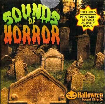 Sounds of Horror - 30 Haunted House Halloween Sound Effects FX CD ()