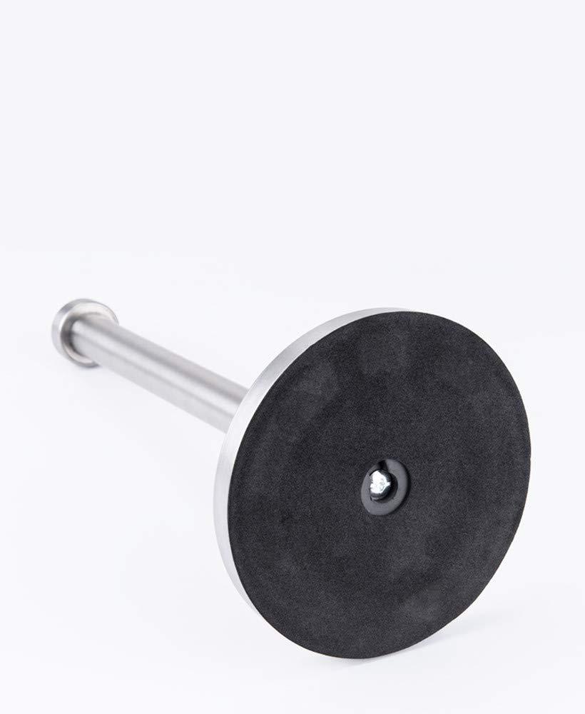 Silber 38cm Loned K/üchenrollenhalter stehend Edelstahl Freistehender K/üche Papierhandtuchhalter f/ür K/üchenrolle