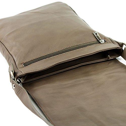 napa de T117 bolsa italiana modamoda de de Taupe mensajero Eqxw5x6Hp