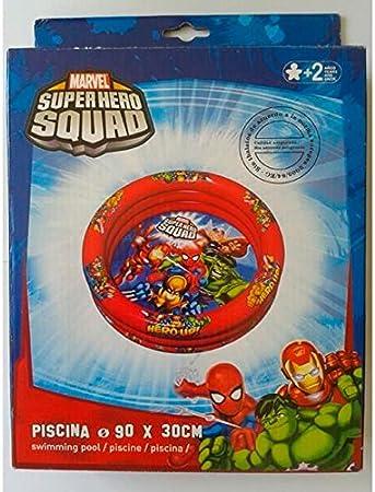 Divertoys Piscina 3 Tubos Super Heroes: Amazon.es: Juguetes y juegos