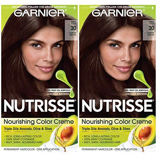 Garnier Hair Color Nutrisse Nourishing Creme, 30...