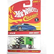 - Classics Series 3 #2 Hiway Hauler Green 5-Spoke Redlines Collectible Collector Car Mattel Hot Wheels 1:64 Scale Collectible Die Cast Car