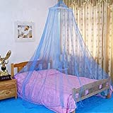 How Big Is a King Size Bed Elegant Lace Bed Canopy Mosquito Net (Blue)