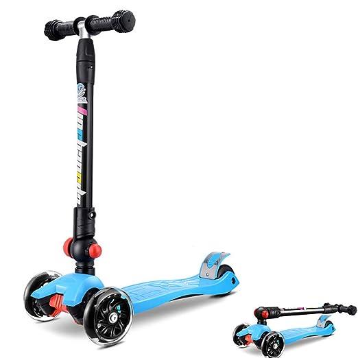 YKKHHCD Scooter para Niños Andador Plegable para Niños De Tres ...