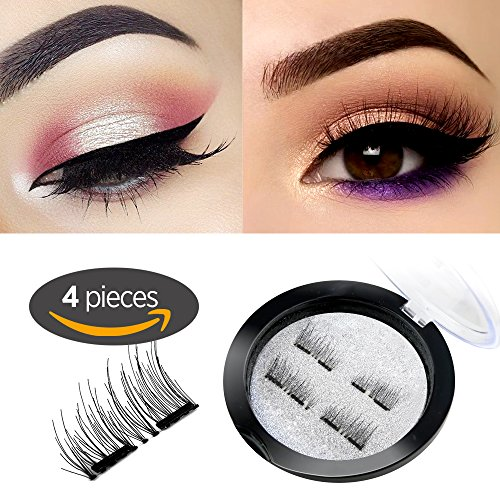 New Dual Magnetic False Eyelashes - 1 Pairs (4