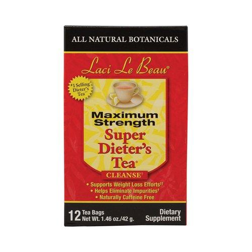 Laci Le Beau Maximum Strength Super Dieters Tea - 12 Tea Bags pack of -1