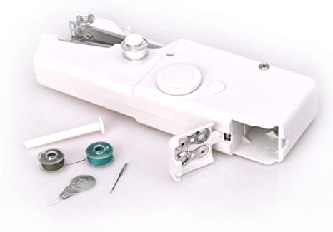 LIIYANN Mini máquina de Coser portátil Costura Manual Costura ...