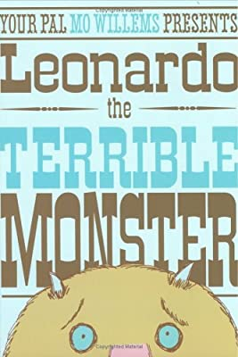 Leonardo The Terrible Monster Ala Notable Childrens Books Younger Readers Awards from Hyperion Book CH