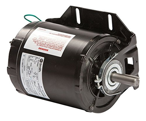 Dayton 5K416 Motor, 1/2 hp, 60Hz, Belt, Degrees_Fahrenheit, to Volts, Amps, ( (60 Hz Belt)