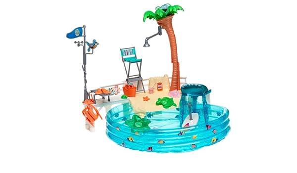 Amazon.es: Mattel Piscina Barbie California: Juguetes y juegos
