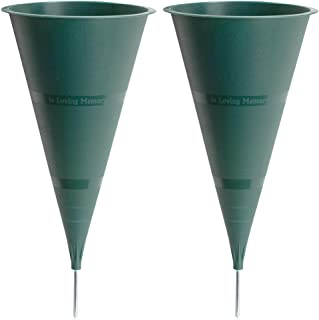 product image for in Loving Memory Cemetery Vase, 2-Pack
