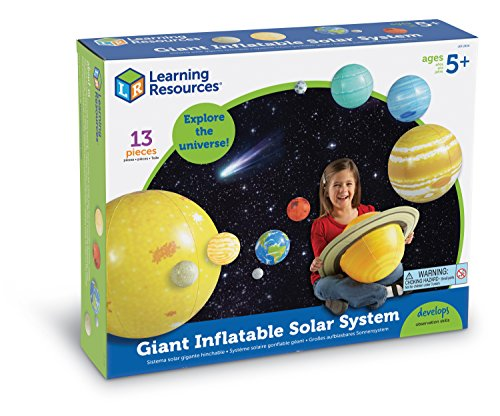 Diameter Solar System - Learning Resources Inflatable Solar System Set