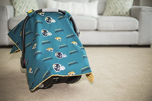 Carseat Canopy NFL Jacksonville Jaguars Baby Infant Car Seat Cover