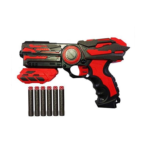 Webby Blaze Strom Soft Bullet Toy Gun with 6 Foam Bullets