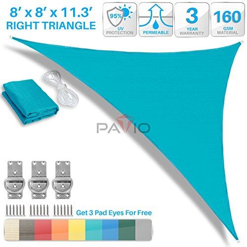 Patio Paradise Turquoise Triangle Canopy