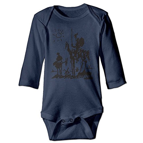 Richard Unisex Infant Bodysuits Picasso Art Girls Babysuit Long Sleeve Jumpsuit Sunsuit Outfit 24 Months (Lyon Framed)
