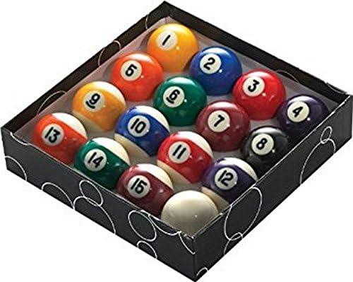 POWERGLIDE Numbered Bolas de Billar (57 mm, 16 Unidades): Amazon.es: Deportes y aire libre