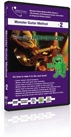 askvideo Ask Video Monster guitarra método Tutorial DVD Vol. 2 ...