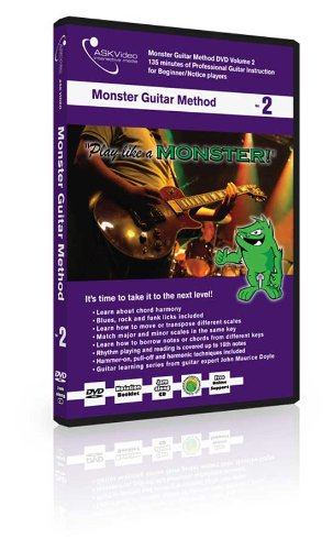 askvideo Ask Video Monster guitarra método Tutorial DVD Vol. 2 ...
