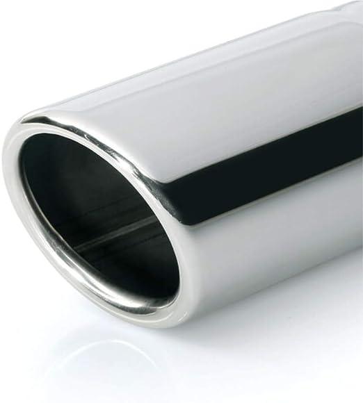 ER028 - Acero inoxidable de tubo de escape del tubo de escape de para atornillar Embellecedor de tubos de escape universales