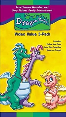 Dragon Tales 3 Pack Vols 4 6 VHS