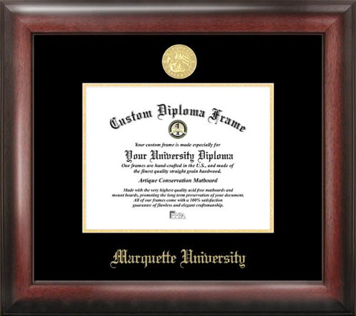 Campus Images Marquette University Gold Embossed Diploma Frame ()
