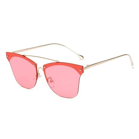 e8488603a Z&HA Occhiali da Sole Cat Eye da Donna Occhialini da Sole Senza Montatura  Occhiale da Sole