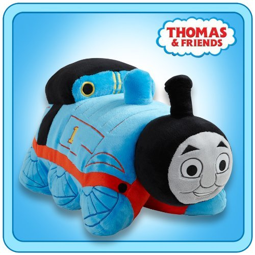 Pillow Pets My Thomas The Tank Engine - Blue/Red 18'' (Licensed)