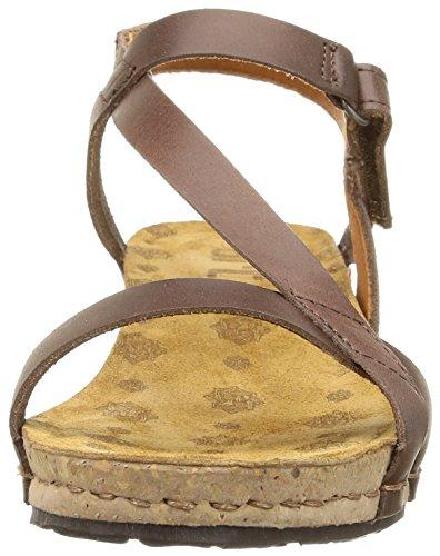 Para Tobilo De Sandalias Art brown Marrón Pompei Mujer qgwtIHt