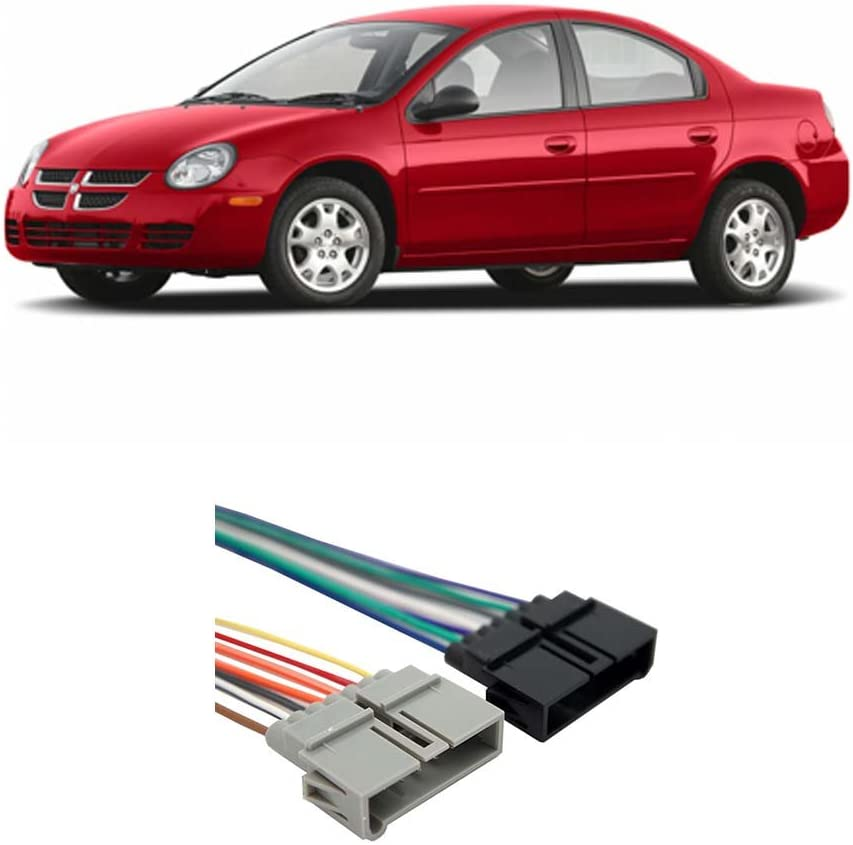 Compatible with Dodge Neon 1995-2001 Factory Stereo to Aftermarket on dodge rampage engine wiring harness, dodge neon engine cover, ford expedition engine wiring harness, honda element engine wiring harness, ford explorer engine wiring harness, toyota tacoma engine wiring harness, dodge neon engine mounts, mazda 6 engine wiring harness, dodge cummins engine wiring harness, jeep cherokee engine wiring harness, dodge neon engine manual, dodge neon engine manifold, dodge neon radio wiring harness, ford ranger engine wiring harness, volkswagen passat engine wiring harness, dodge neon engine sensors, jeep commander engine wiring harness, ford escape engine wiring harness, toyota 4runner engine wiring harness, buick grand national engine wiring harness,