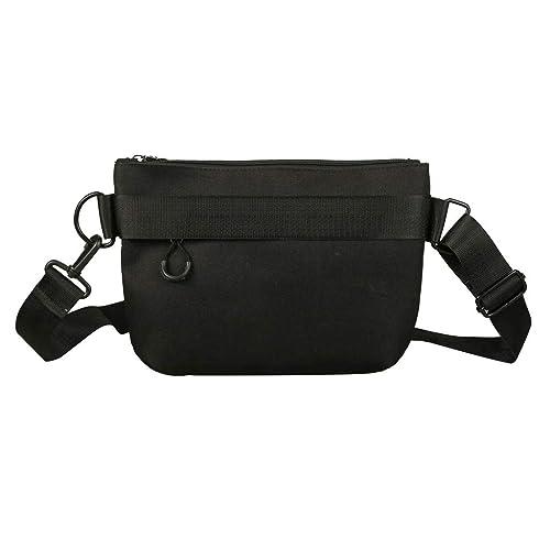 OrchidAmor Leisure Shopping Travel Canvas Shoulder Bag Handbag Bag Inclined Shoulder Bag Black: Handbags: Amazon.com