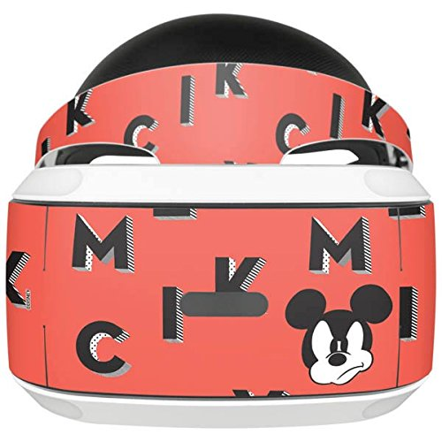 Mickey Mouse PlayStation VR Skin - Mickey Mouse Grumpy Vinyl Decal Skin For Your PlayStation VR