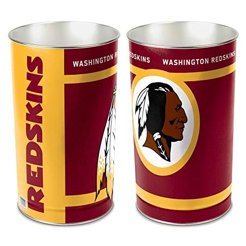 NFL Washington Redskins Wastebasket (Redskins Trash Can)