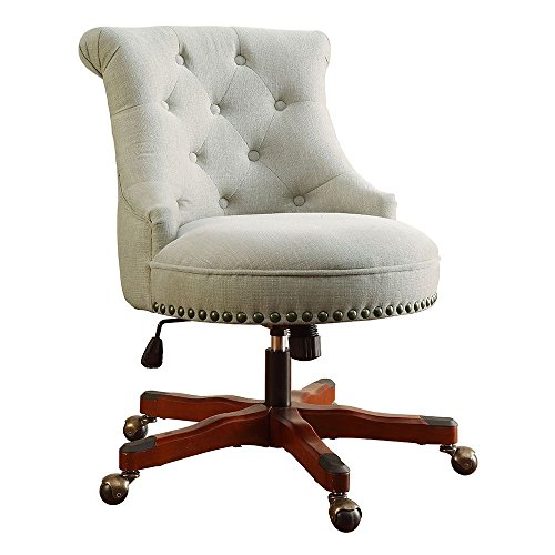 """Sinclair Armless Office Chair in Fabric Dimensions: 23""""W x 2"""