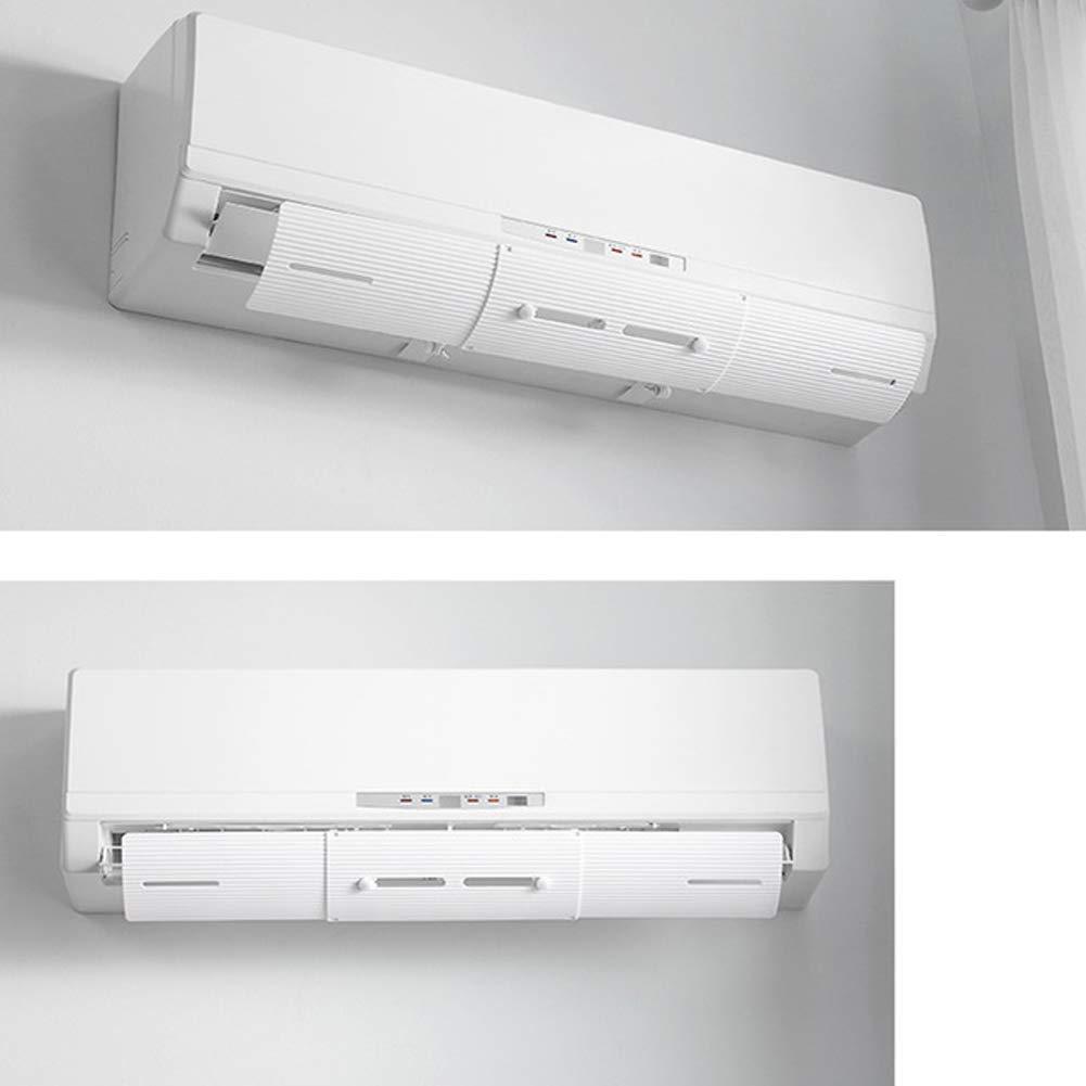 Blanc Bouclier de d/éflecteur de climatisation r/églable dAssential d/éflecteurs de climatiseur t/élescopiques