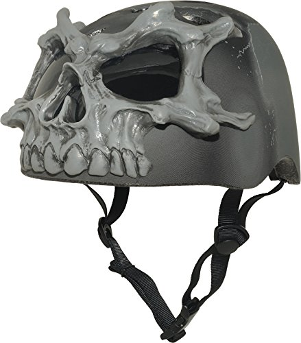 Krash 3D Skulls 8+ Helmet, Black