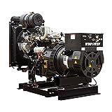 30KW Winco Diesel DE30I4-4/2, 120/208V,3-PH, KEY STRT, 1800RPM, POWR-PAK, COMP 54 GAL - 8301003-042
